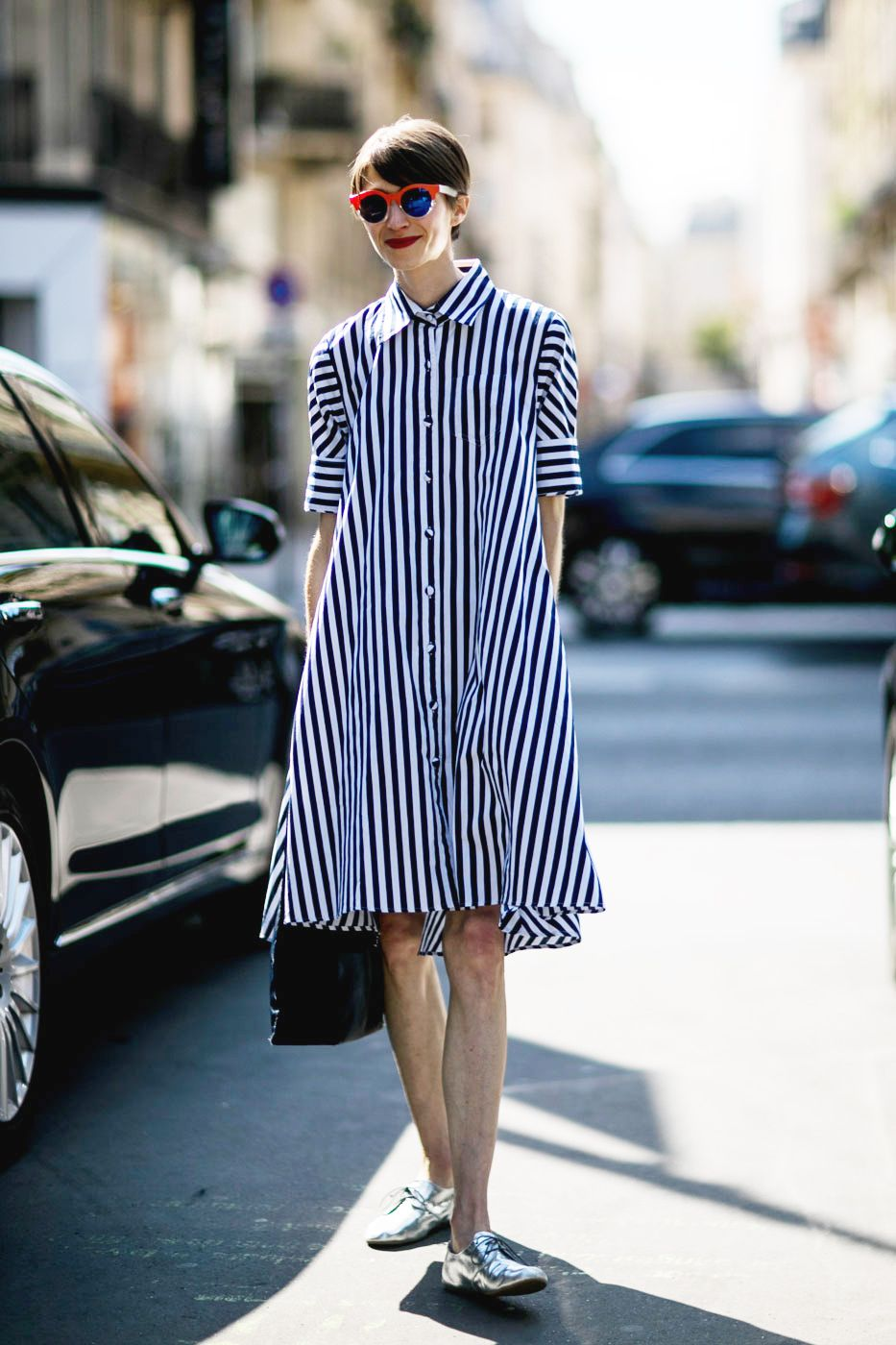 Fashion style Style street at the couture shows for girls