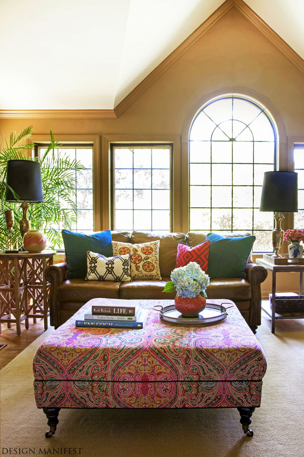 Classy Bohemian Style Living Room Designs Collection : Enticing ...