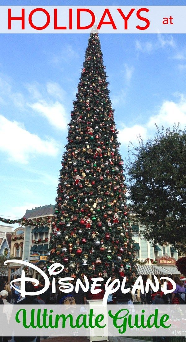 visiting disneyland for the holidays the best food christmas lights decorations attractions and tips for making the most of a visit to the parks in