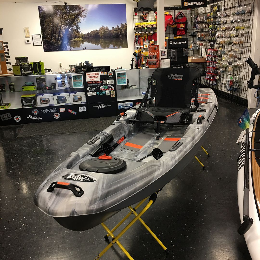 The Brand New Catch 100 Is The Newest Addition To The Mypelican Fishing Family Packed With Great Features From The E Angler Kayak Pelican Kayak Kayak Fishing