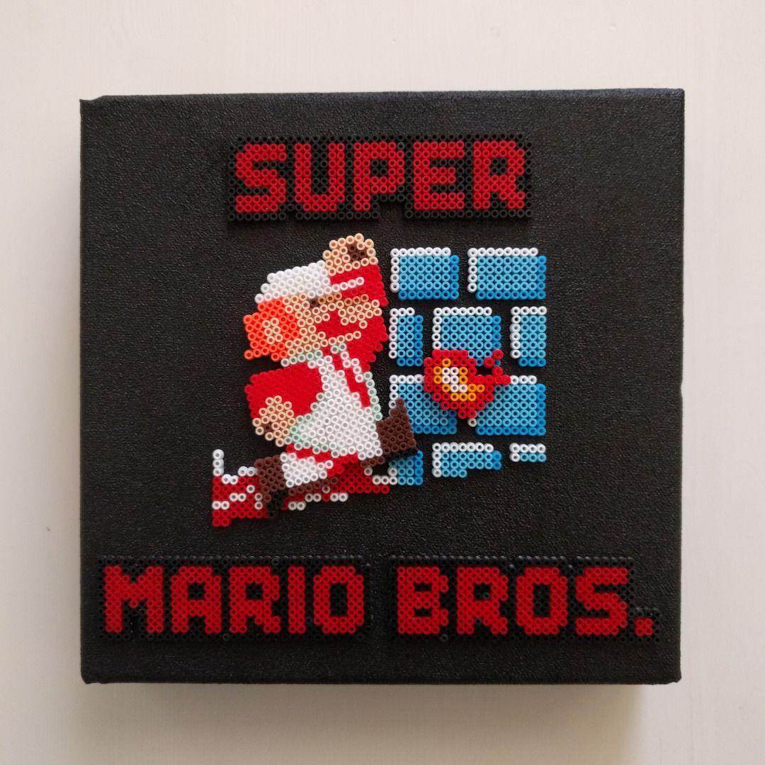 Catm0nkey Creative Super Mario Bros Nes Cartridge Cover More Patrones De Punto De Cruz Gratuitos Punto De Cruz Patrones Hama