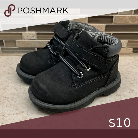 Toddler Boy Black Boots in 2020   Boys