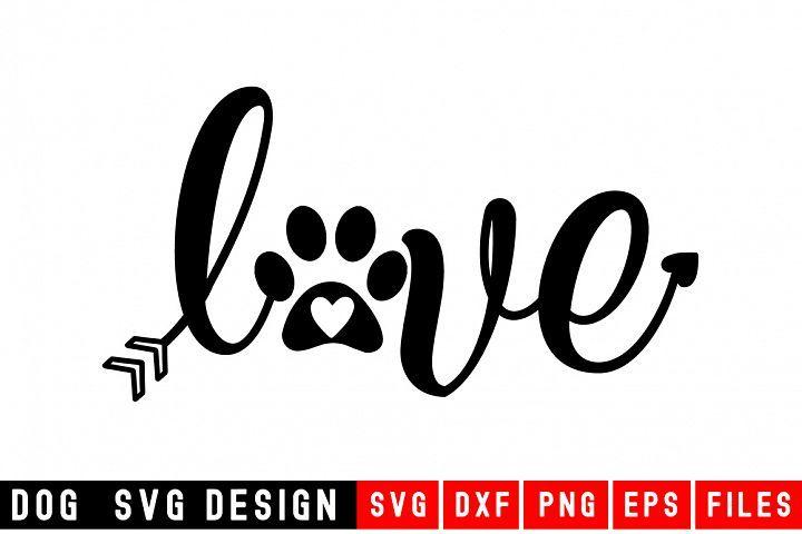 Download Love SVG with hearts svg|Fur Mom SVG|Animal and Design ...