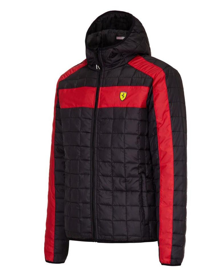 0d84edf2c4a40 Kurtka Ferrari Packable Jacket CZARNY | FERRARI MEN \ KAMIZELKI I KURTKI |  Fbutik | Scuderia Ferrari Collection