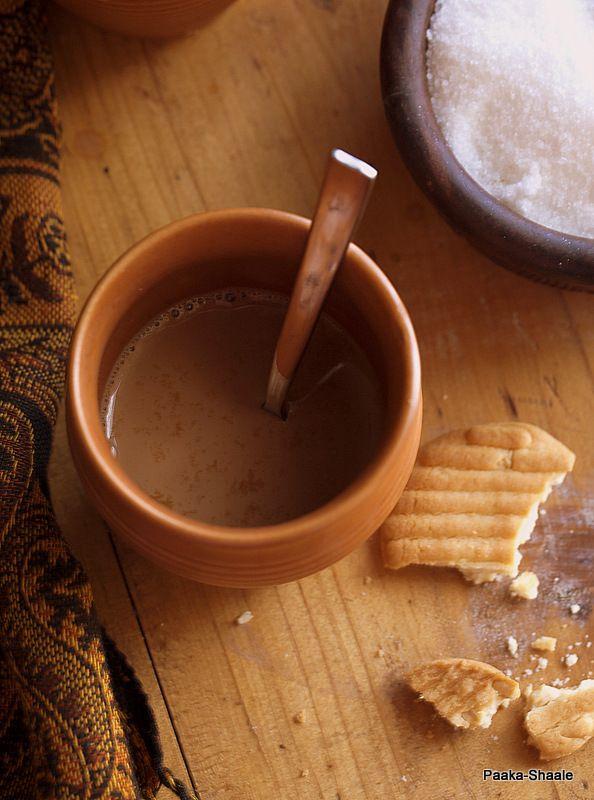 Paaka Shaale: Ginger and cardamom tea