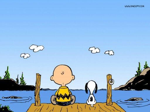 Snoopy & Charlie - Looking forward