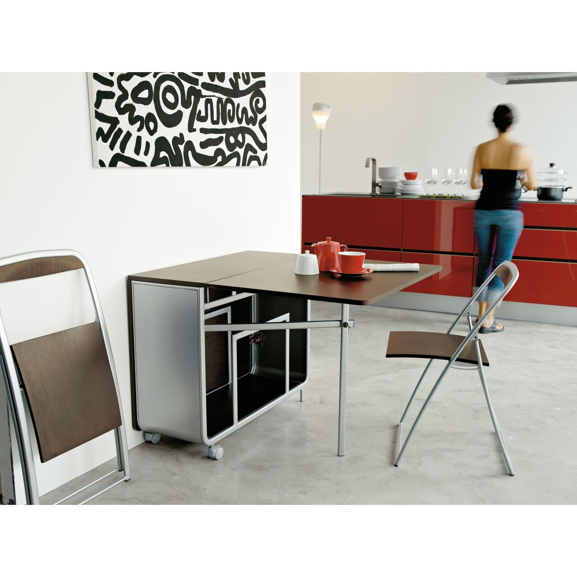 Fold Out Wall Dining Table httpbrutabolincom Pinterest Walls