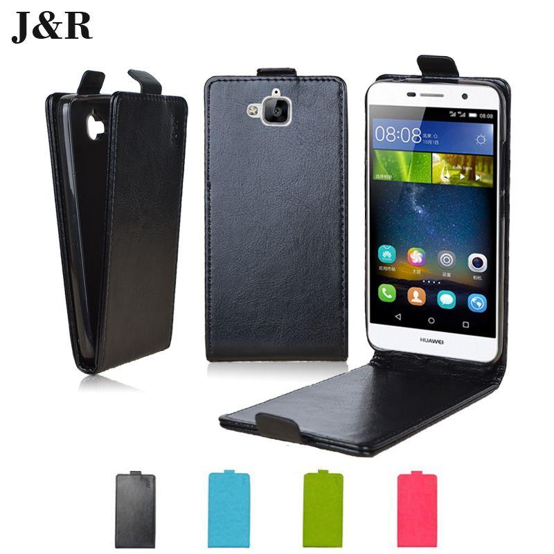"Leather Case For Huawei Honor 4C Pro /  Enjoy 5 / TIT-AL00 Y6 Pro / TIT-L01 5.0""  Flip Phone Bag Protective phone bags&cases"