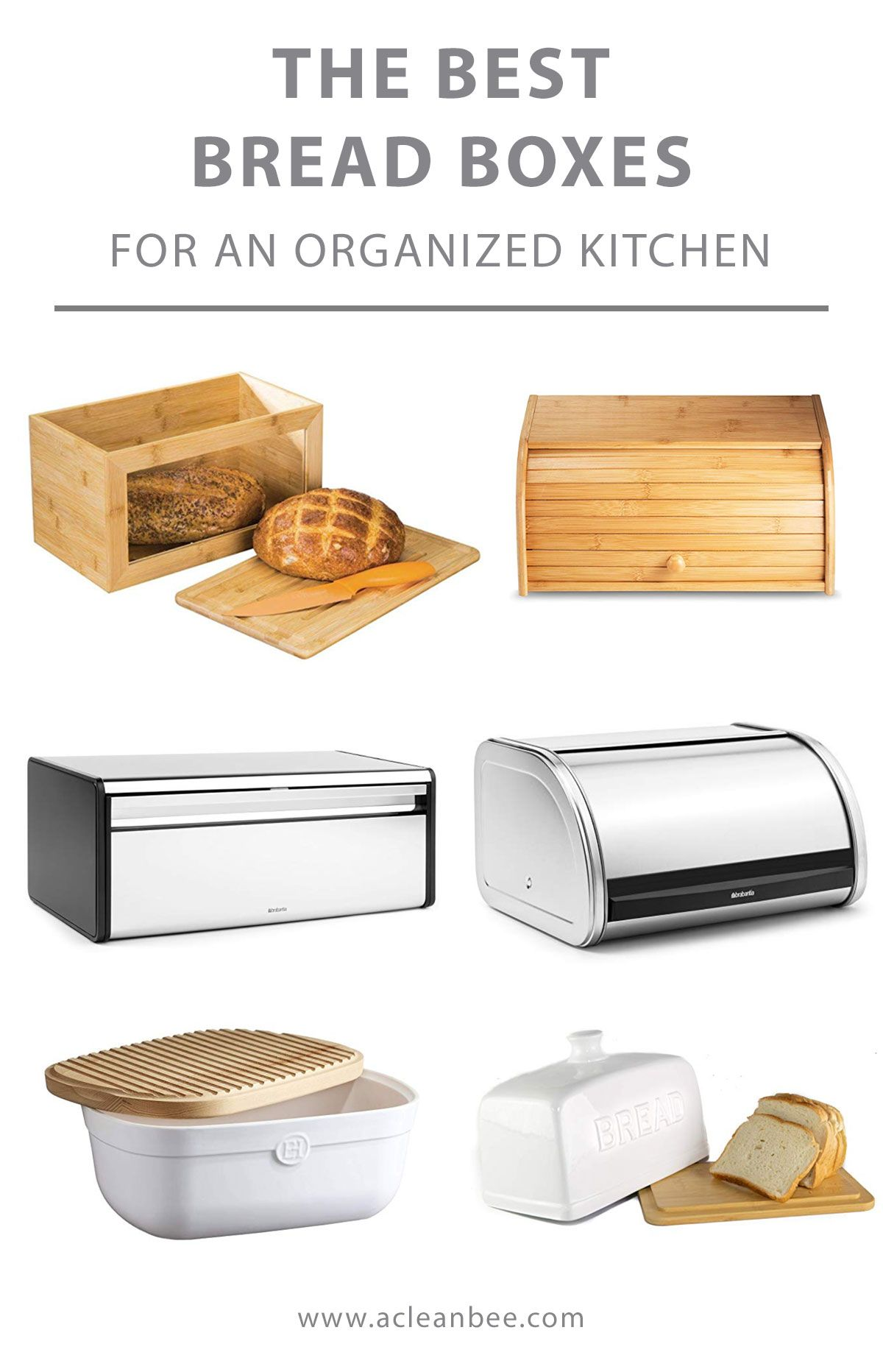 Best Bread Boxes For An Organized Kitchen In 2020 Bread Boxes Bread Storage Kitchen Organization