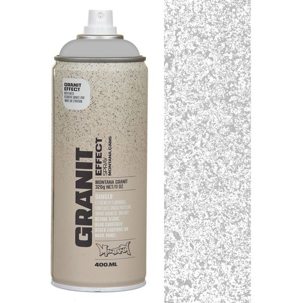 Montana+GRANIT+EFFECT+Spray+Grey+400ml