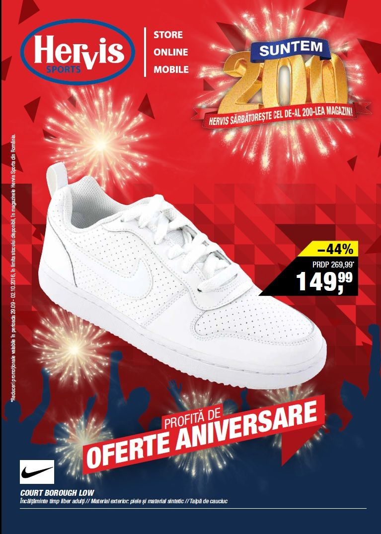 Catalog Hervis Sports 28 Septembrie 08 Octombrie 2017