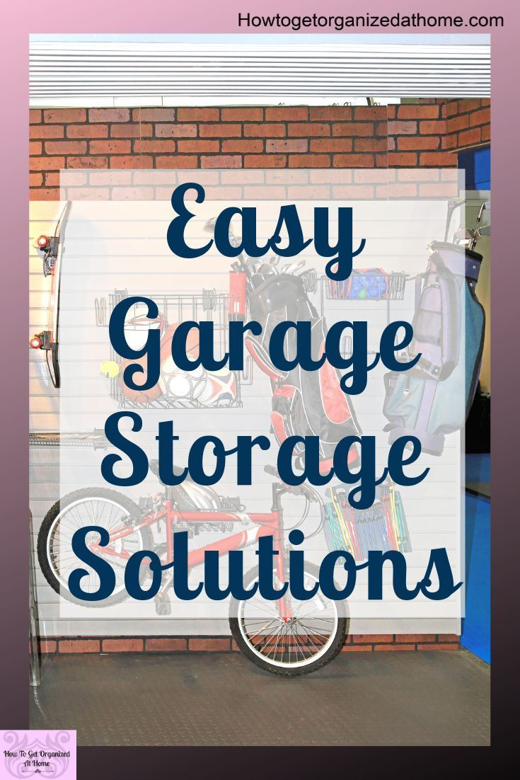 15 Of The Best Garage Organization Systems  Looking for some easy garage storage solutions Look no further Ive got some simple garage stor
