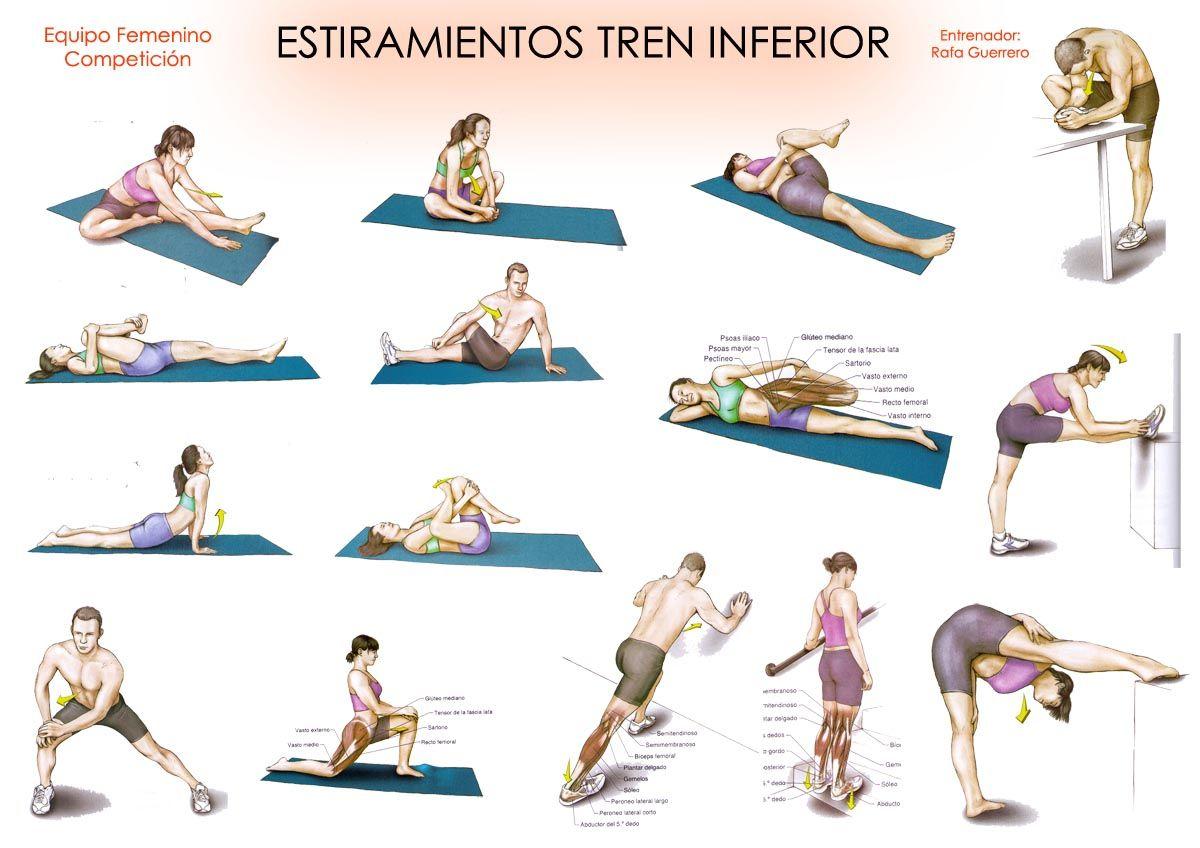 ejercicios para adelgazar tren inferior