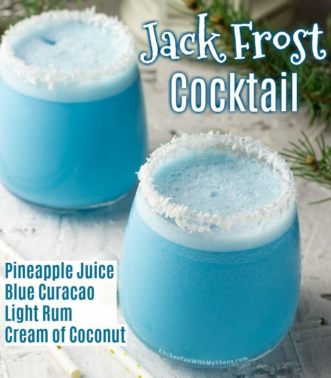 Jack Frost Cocktail
