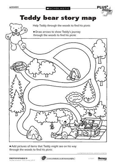Free Teddy Bears downloadables from Scholastics. Thanks Scholastics