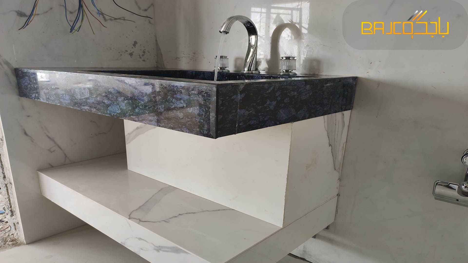 مغسلة رخام Vanity Home Decor Marble