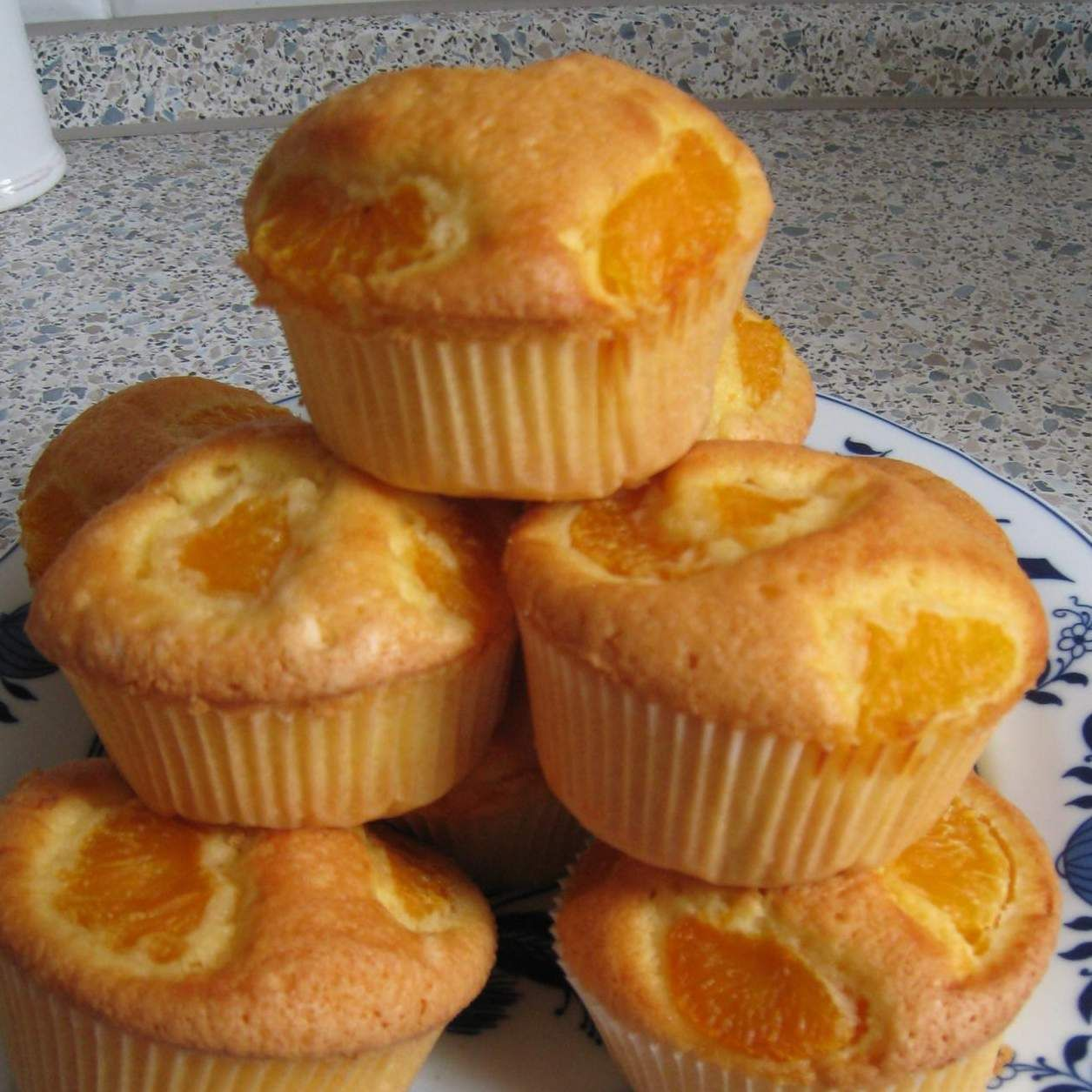 Eierlikor Muffins Mit Mandarinen Rezept Kuchen Pinterest