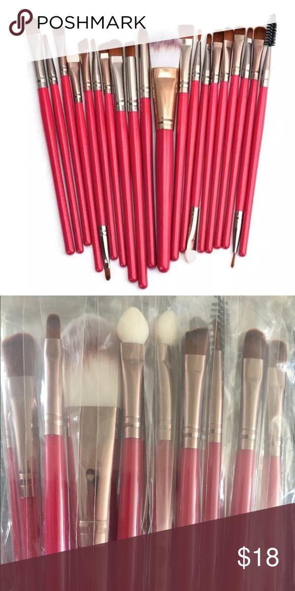 20 piece makeup brush set Boutique (With images) Makeup