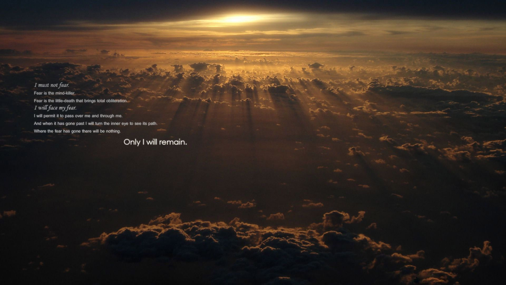 Dune Quote Extraordinary Wallpaper High Definition