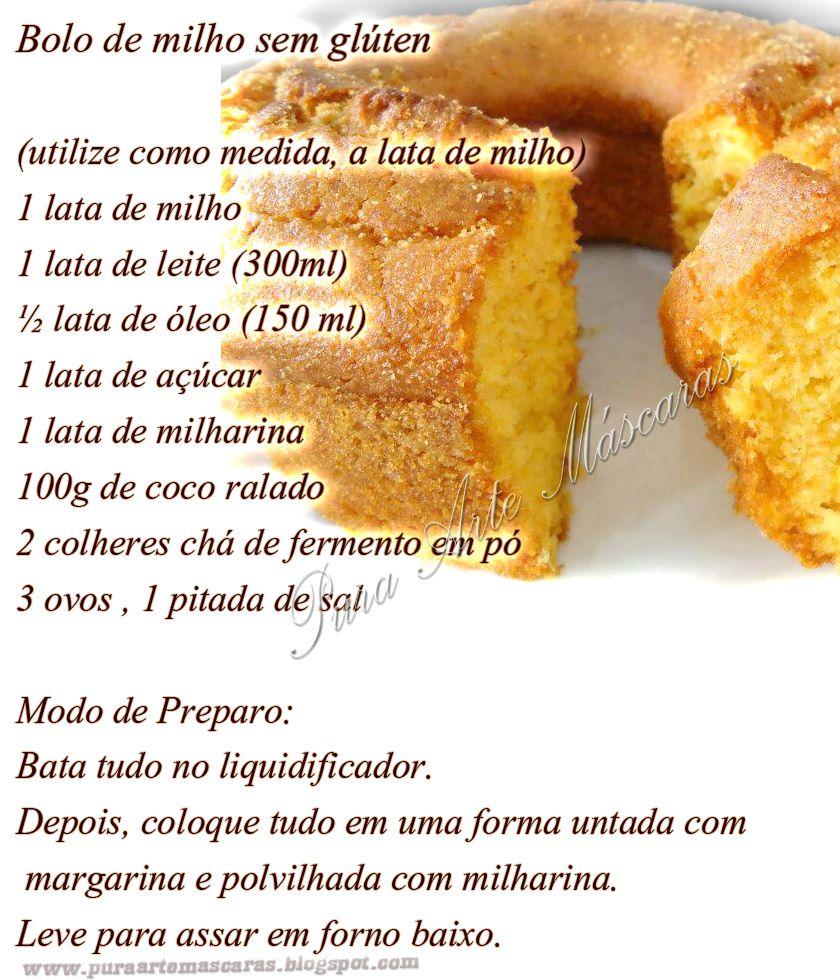 Bolo De Milho Sem Gluten Jpg 840 980 Receitas Receitas