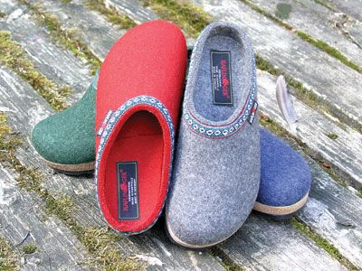 Haflinger Grizzly Classic Felt Clogs – great combination of slipper and  shoe.
