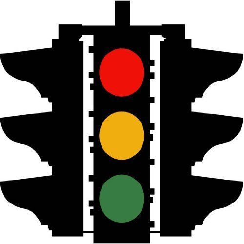 Street Signs More Traffic Light Symbol Sign 12 Wall Decals