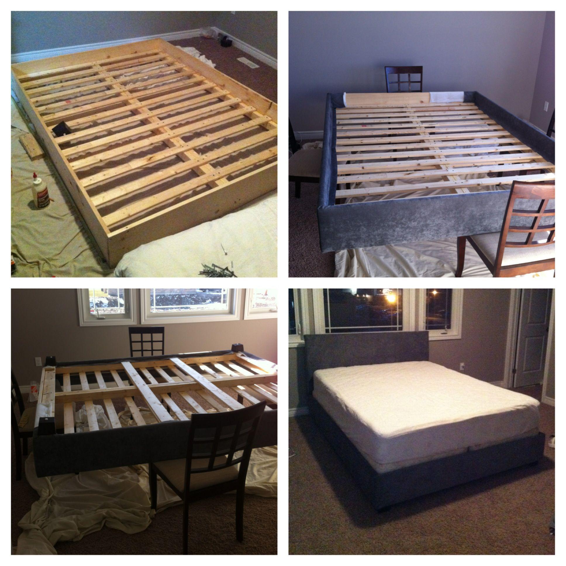 diy platform bed instructions we mostly followed http high