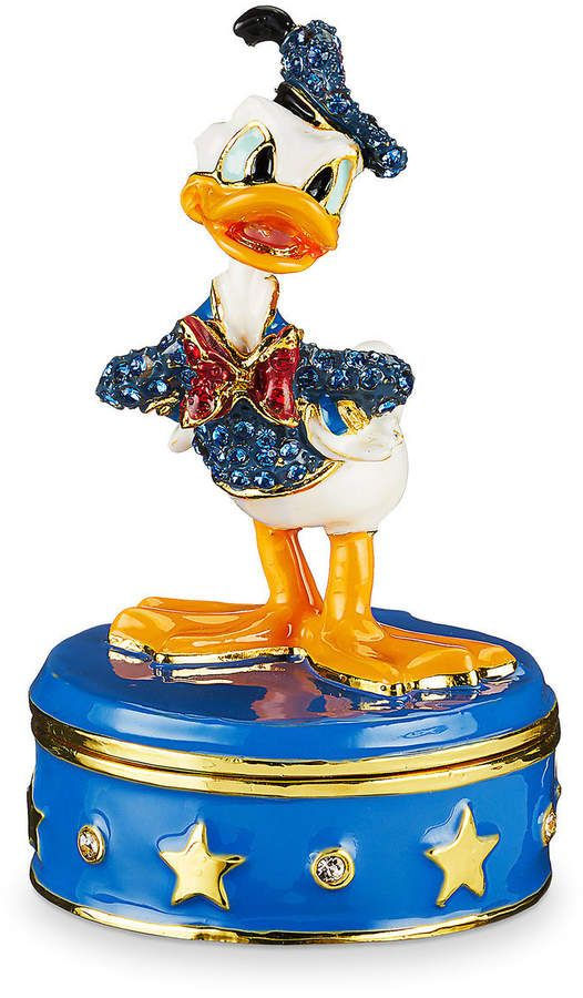 6ac46a137 Donald Duck Trinket Box by Arribas Brothers   Products   Trinket ...
