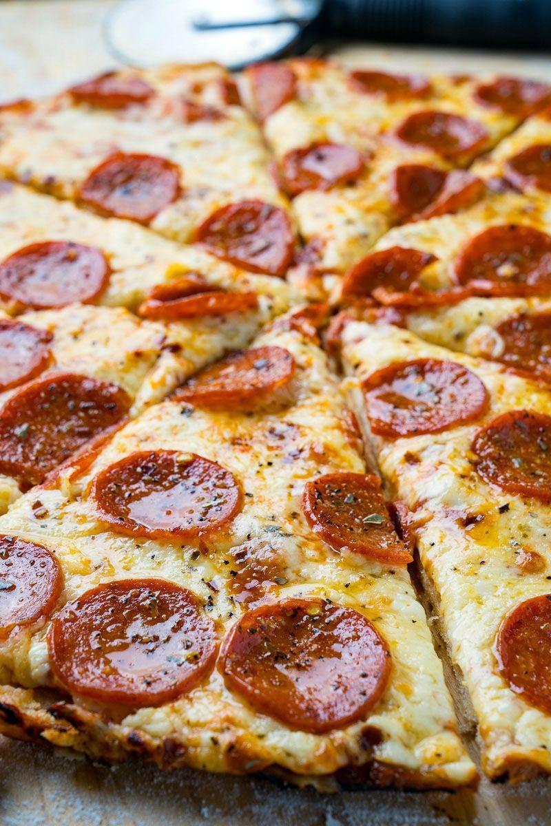 Chicago Style Thin Crust Pizza Recipe Thin Crust Pizza Recipes Thin Crust Pizza Pizza Crust Recipe