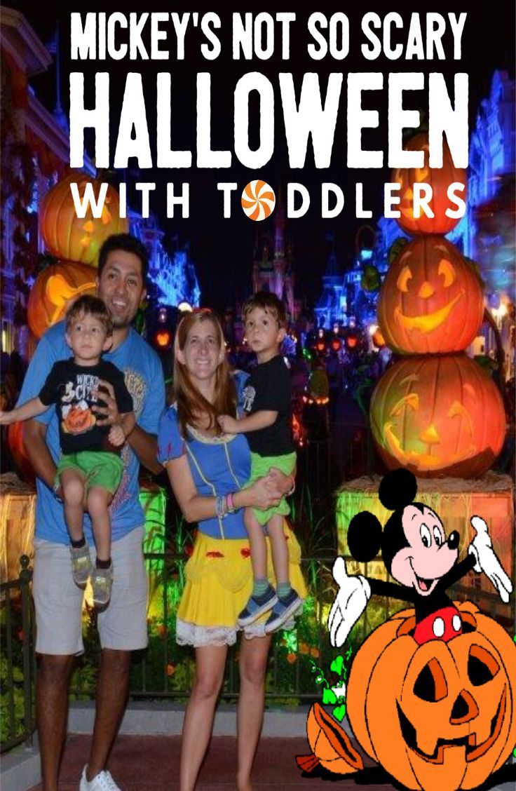 7 tips for mickeys not so scary halloween party with toddlers at magic kingdom - Disneys Not So Scary Halloween Party