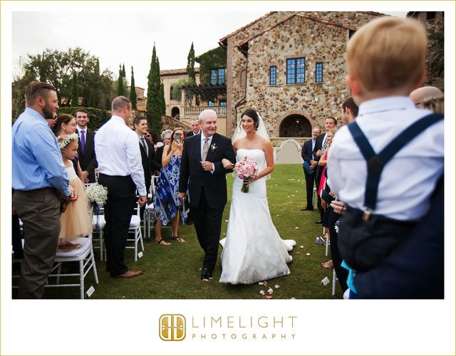 Wedding Venue | Bella Collina #wedding #photography #weddingphotography #BellaCollina #Montverde #Florida #stepintothelimelight #limelightphotography #bride #fatherofthebride #givingthebrideaway #walkingdowntheaisle #pathofpetals #outdoorwedding #weddingceremony #familyandfriends