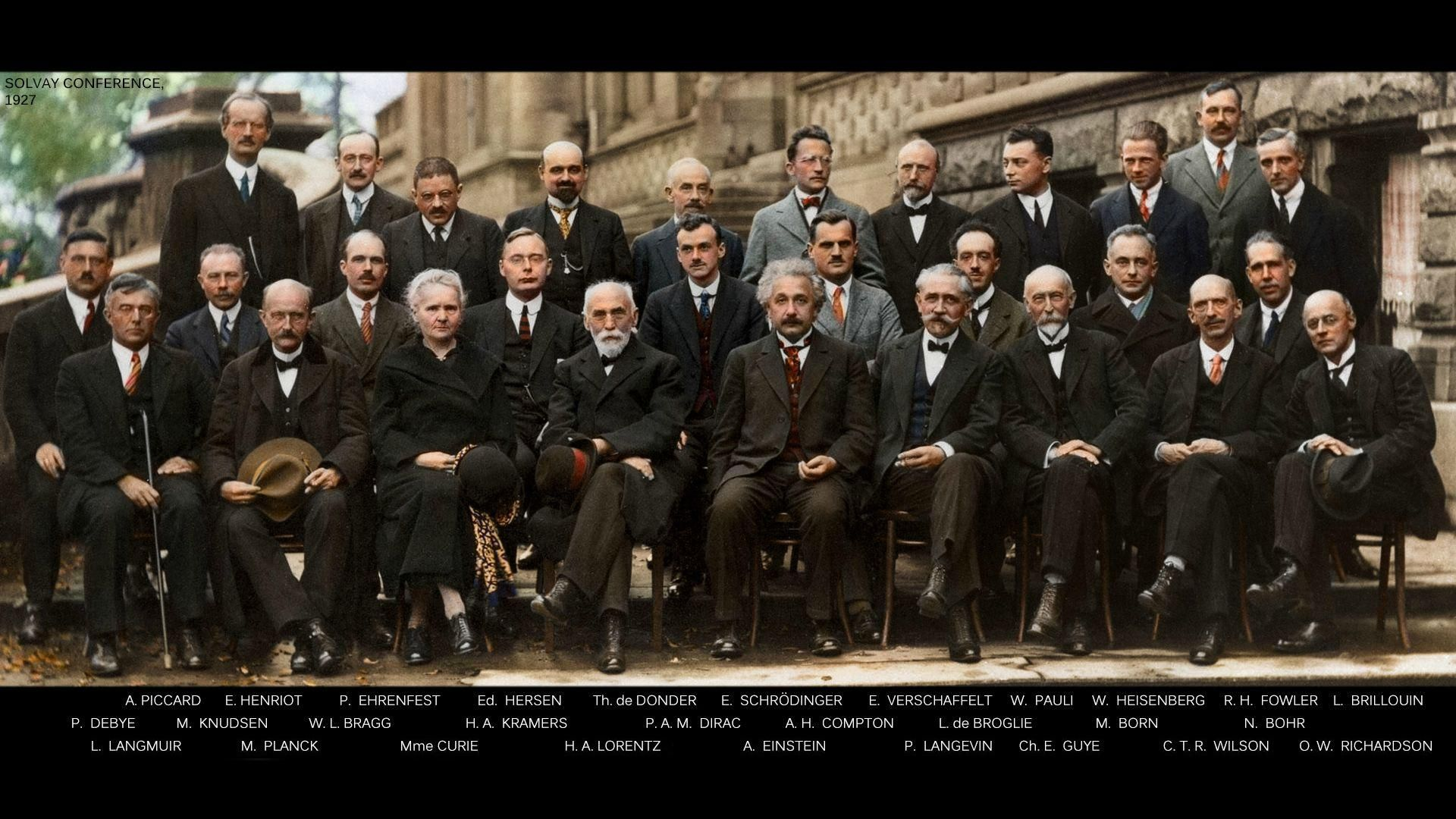 Solvay Conference, 1927.