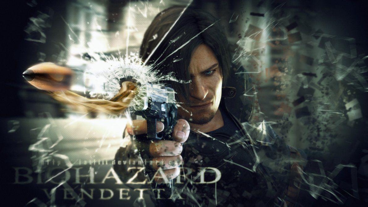 Biohazard Vendetta Wallpaper By Taitiii Resident Evil Leon S