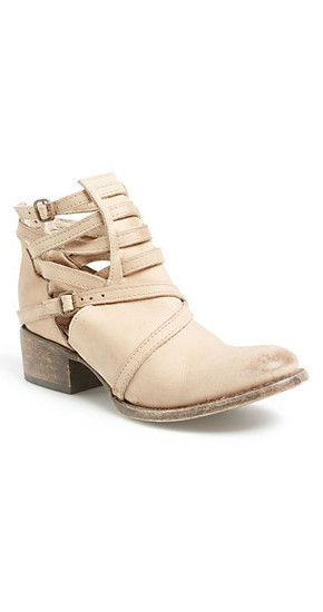 Freebird by Steven Stair Bootie in Taupe at www.shopblueeyedgirl.com