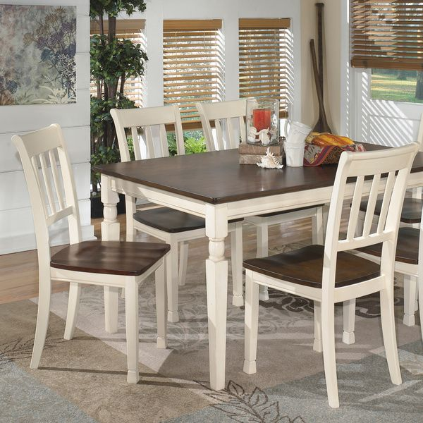 Signature Design By Ashley Whitesburg Two Tone Dining Room Side