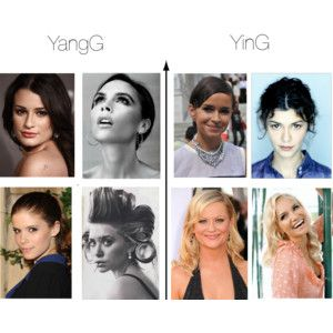YinG and YangG Faces | Flamboyant Gamine-ology in 2019