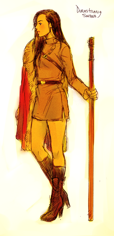 Durmstrang Santana Glee Hp Fanart Harry Potter School Accio Harry Potter Hp Harry Potter The durmstrang uniform was a set of clothing all students of durmstrang institute were required to wear. durmstrang santana glee hp fanart