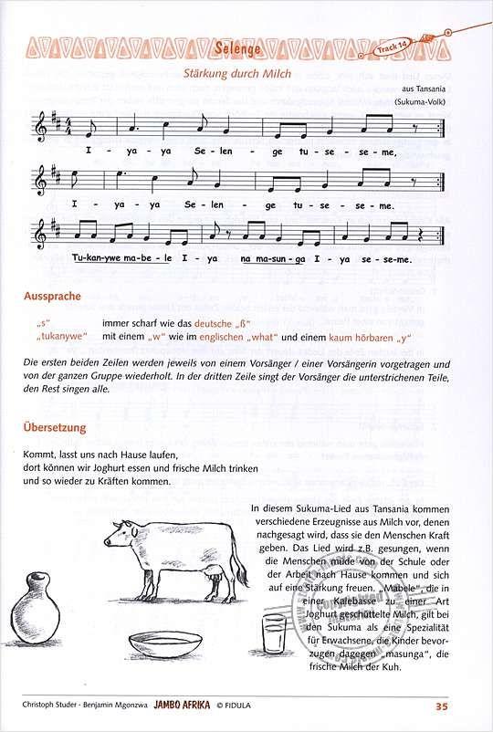 Afrikanisches Weihnachtslied