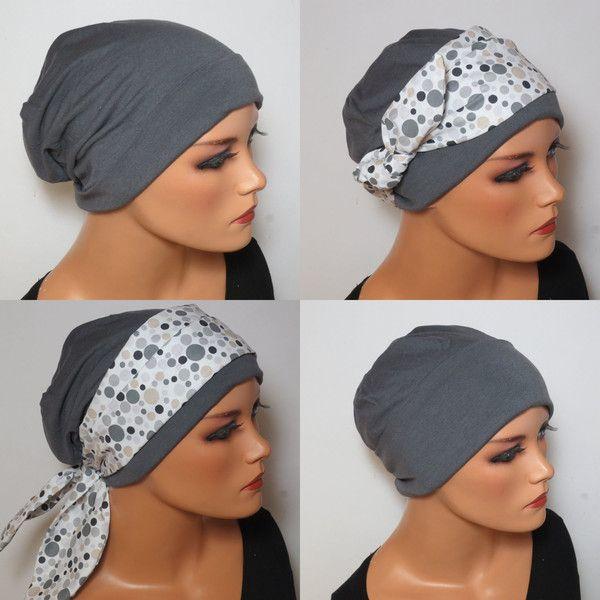 Frauen Big Bow Bonnet Chemo Hijab Turban Mütze Mütze Hut Kopftuch Wrap