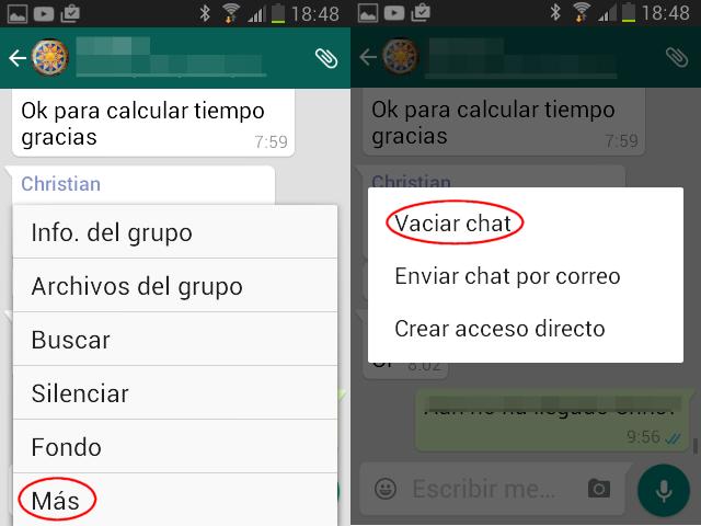 Trucos De Whatsapp Que Aún No Conocías Página 2 De 4 Disfi Es Borrando Mensajes Borrar Android
