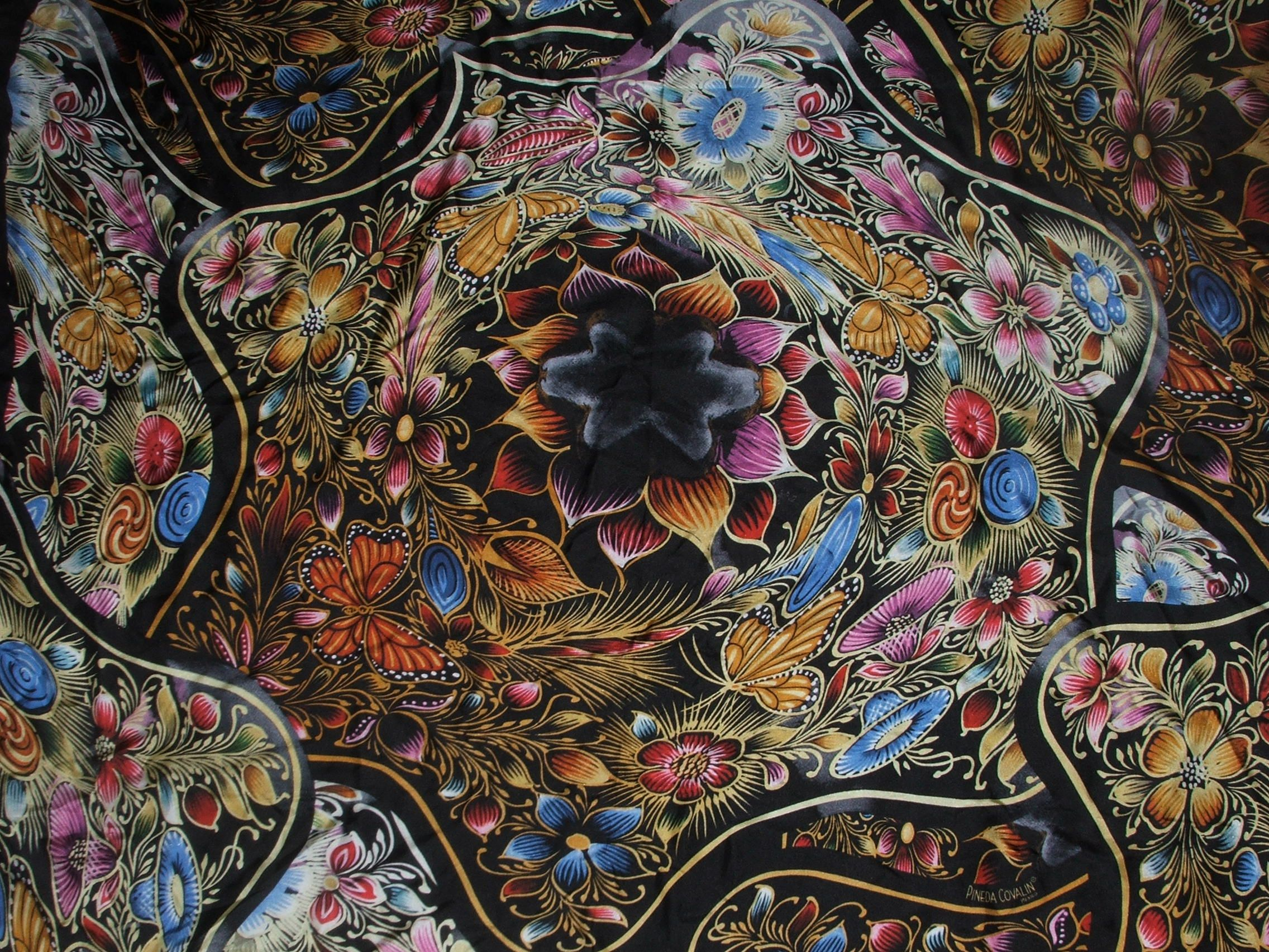 Pineda Covalin Silk Scarf | Creative Eye on Fashion ...