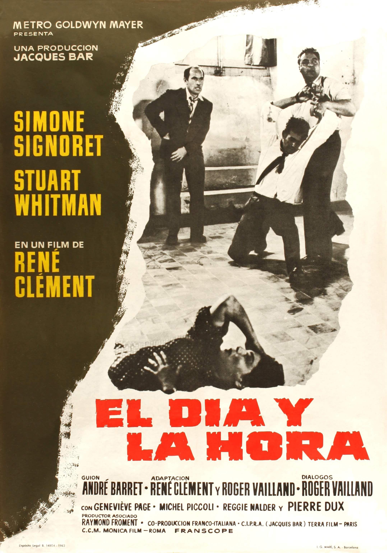 1963 - El dia y la hora - Le jour et l'heure en 2020 | Cine ...