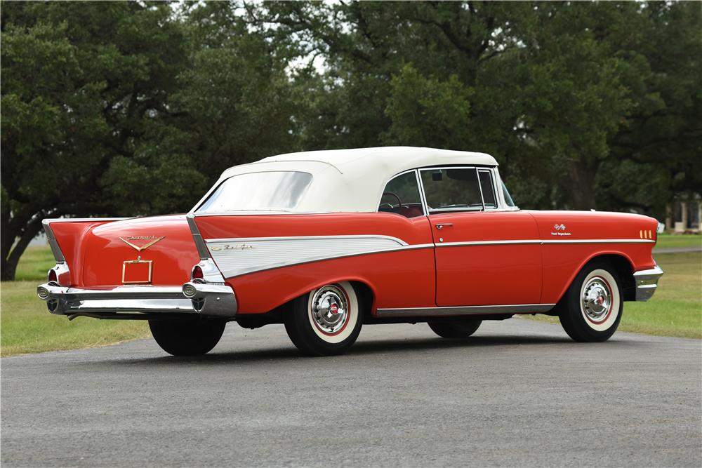 1957 CHEVROLET BEL AIR CONVERTIBLE | Old Rides 4 | Pinterest ...