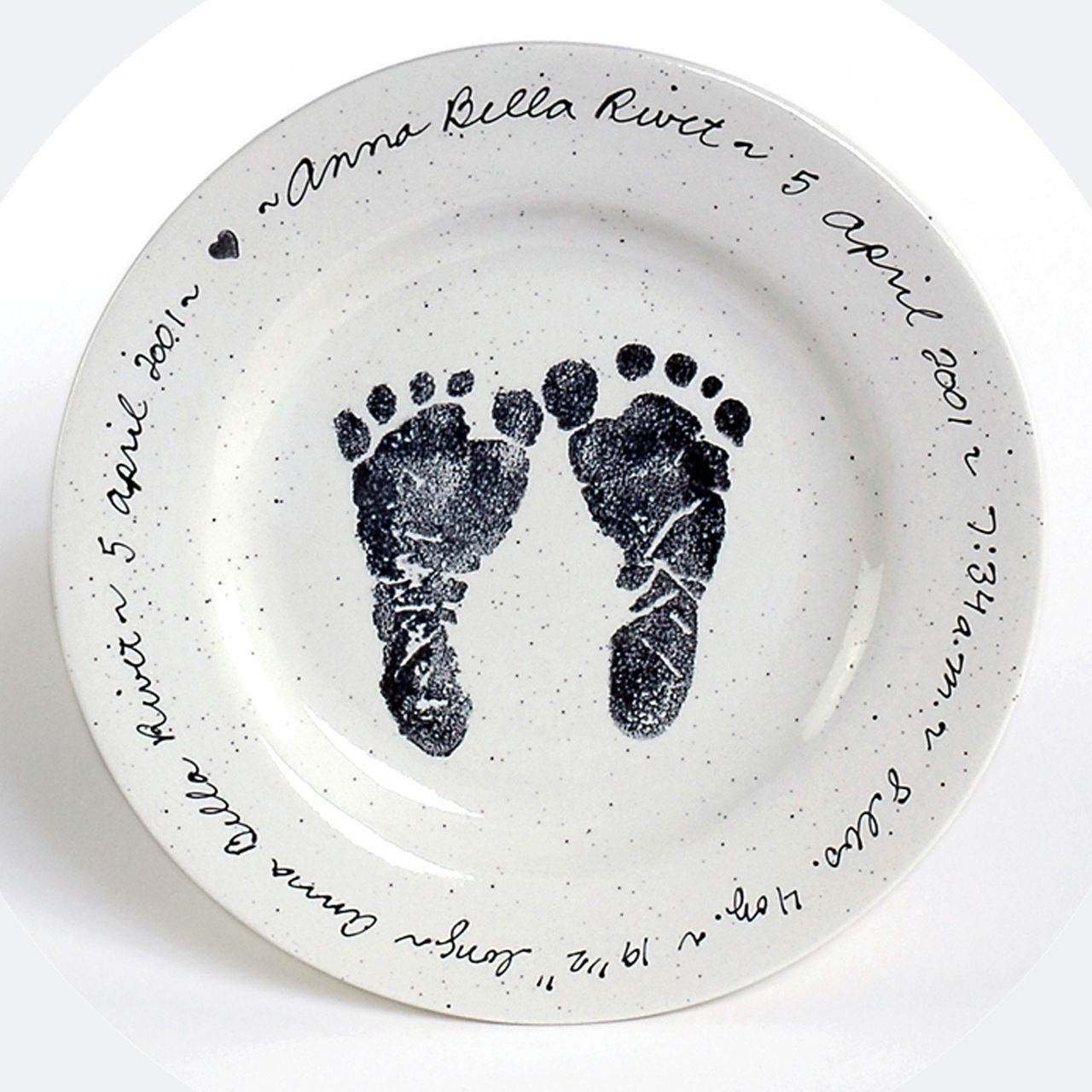 Baby feet birth plate baby foot baby birth and personalised baby baby feet birth plate negle Gallery