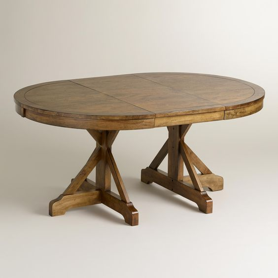 Delightful Image Result For Oval Farmhouse Kitchen Table With Extension