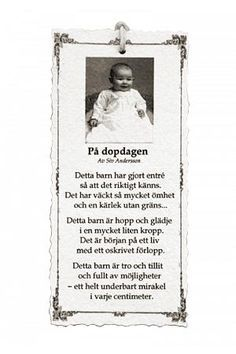 grattis på dopdagen dikt På Dopdagen   Diktkort | dikt | Pinterest | Catalog grattis på dopdagen dikt