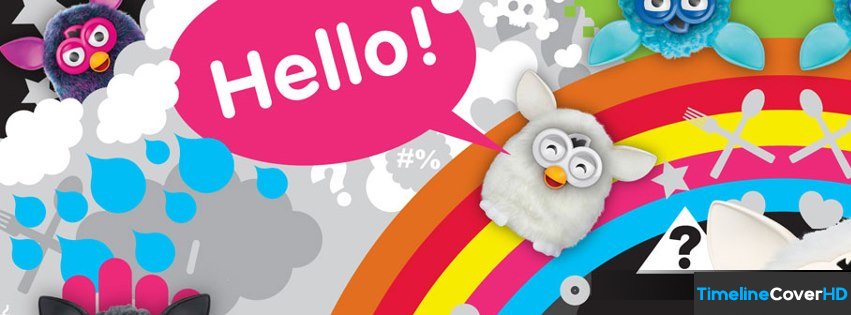 Furby 2012 Timeline Cover 850x315 Facebook Covers - Timeline Cover HD