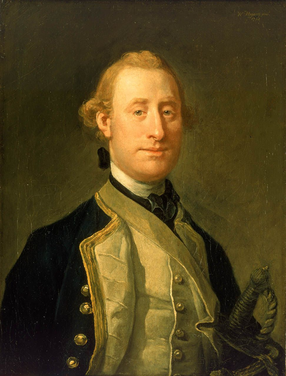 Alexander Schomberg joined the navy in 1743, became a captain in 1757 and after an active and laudable career was knighted in 1777. He commanded the 'Diana', 32 guns, at the taking of Louisbourg in 1758, where he played a distinguished part. In 1759, still in the 'Diana', he assisted at the taking of Quebec and was closely associated with Wolfe. He later commanded the 'Essex' and at the peace of 1763 he married Arabella Susanna Chalmers.