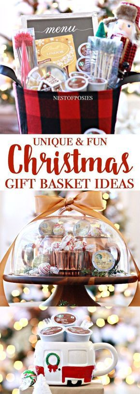 Awesome Christmas Gift Basket Ideas Creative Gift Giving