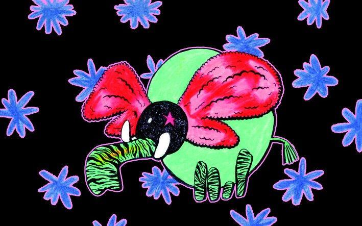 Flower Elephant 코끼리 꽃